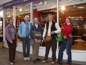 Museum trip participants